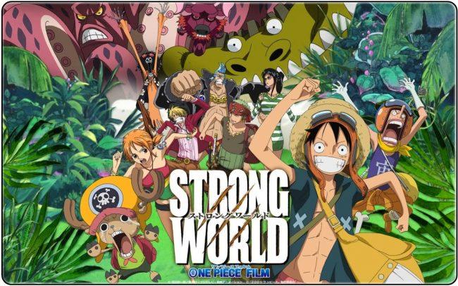 >วันพีชเดอะมูฟวี่ 10 (One Piece The Movie 10) ผจญภัยเหนือหล้าท้าโลก พากย์ไทย ซับไทย