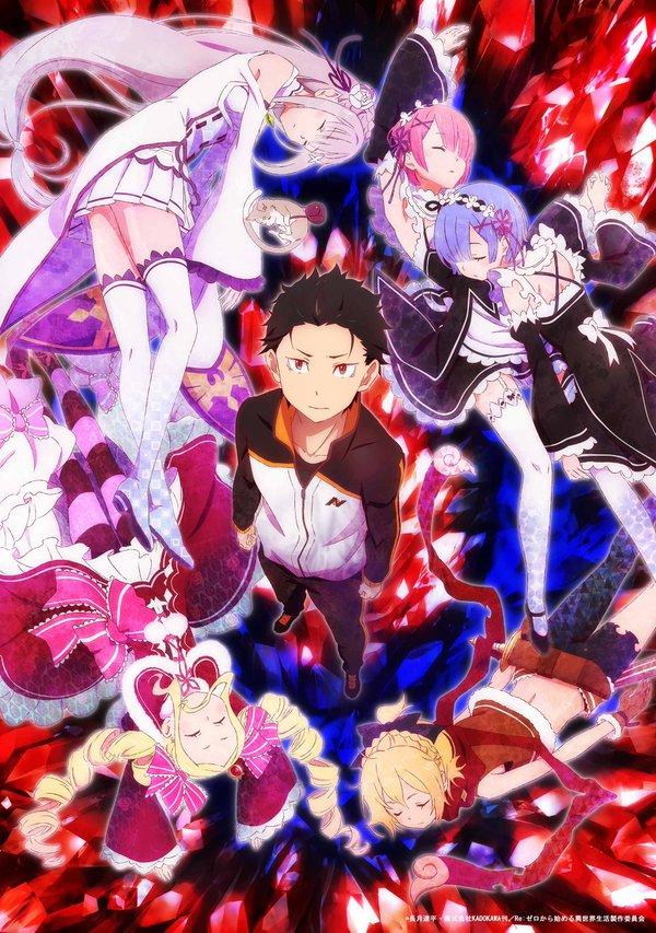>RE:ZERO KARA HAJIMERU ISEKAI SEIKATSU รีเซทชีวิต ฝ่าวิกฤตต่างโลก ตอนที่ 1-25+OVA ซับไทย
