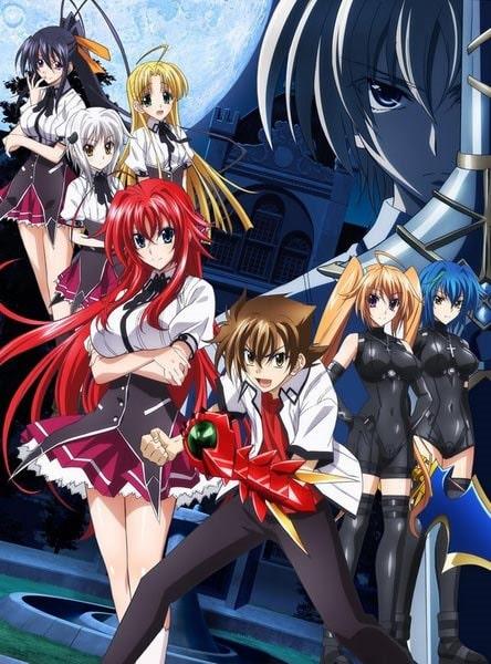 >High School DxD New ไฮสคูล DxD ภาค2 ตอนที่ 1-12+OVA พากย์ไทย ซับไทย