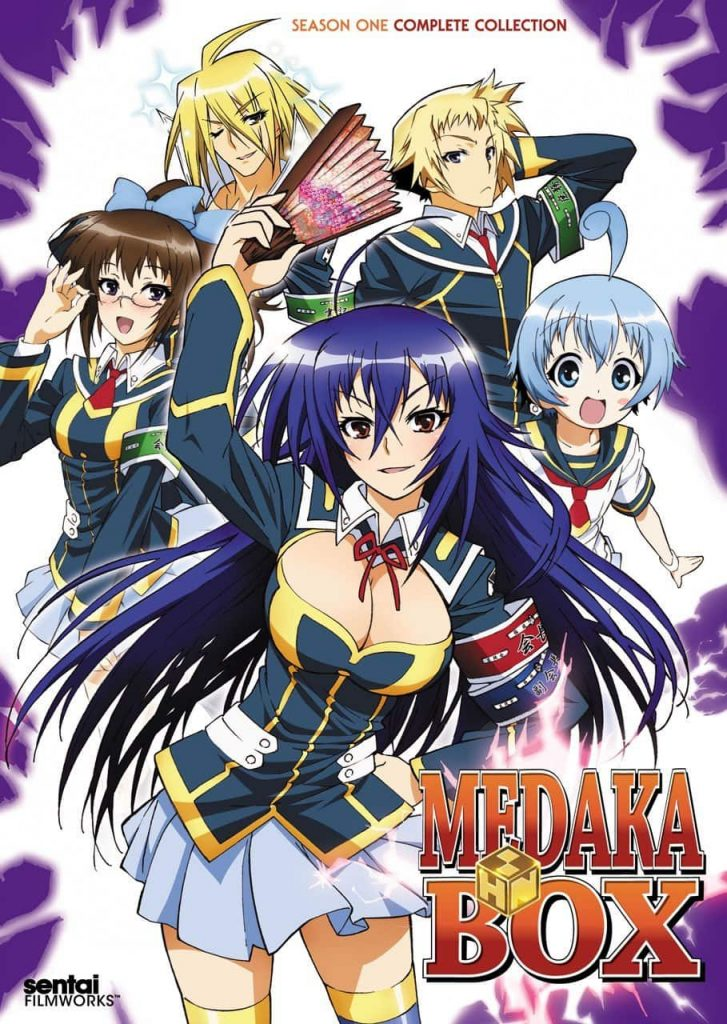 >Medaka Box คุโรคามิ มาดากะ ตอนที่ 1-12 พากย์ไทย