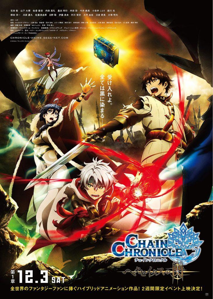 >Chain Chronicle : Haecceitas no Hikari - Movie ตอนที่ 1-4 ซับไทย