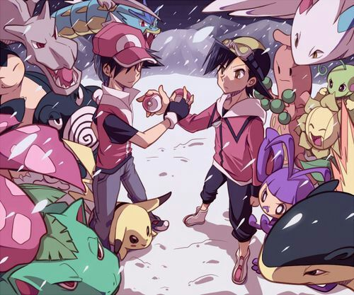 >Pokemon Red and Gold Champions Movie ตอนเดียวจบ