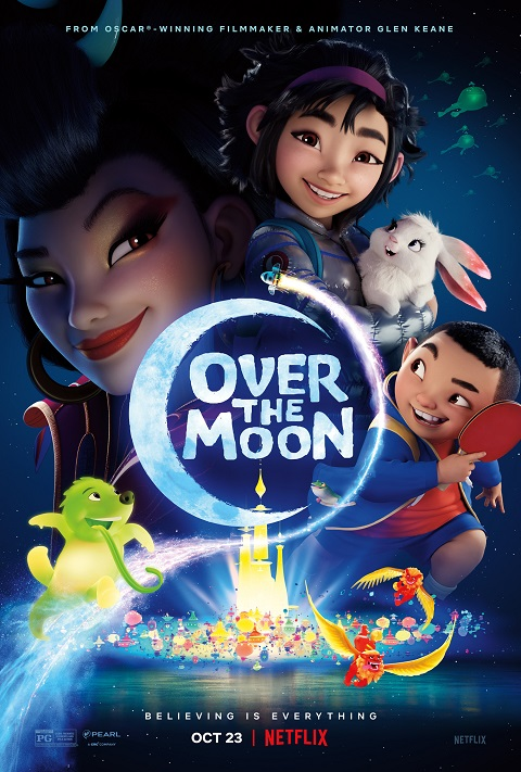 >Over The Moon เนรมิตฝันสู่จันทรา Movie เดอะมูฟวี่ พากย์ไทย