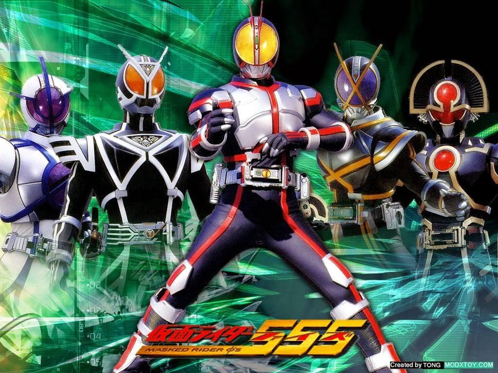 >Kamen Rider Faiz 555 มาสค์ไรเดอร์ไฟซ์ ตอนที่ 1-50 พากย์ไทย