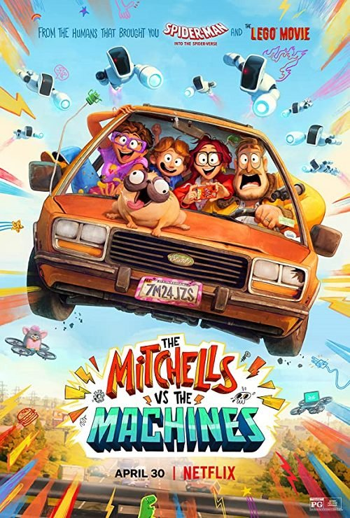 >The Mitchells vs The Machines บ้านมิตเชลล์ปะทะจักรกล 2021 พากย์ไทย