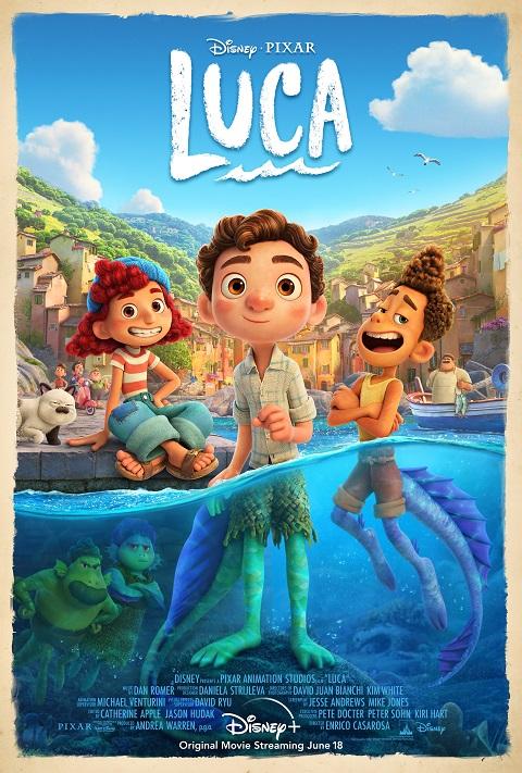 >Luca (2021) Disney+ ลูก้า ผจญภัยโลกมนุษย์ The Movie พากย์ไทย